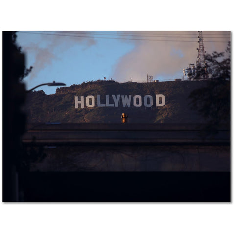 Hollywood In Color - 12x16 Canvas