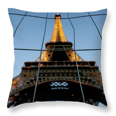 Behind The Fence - Throw Pillow
