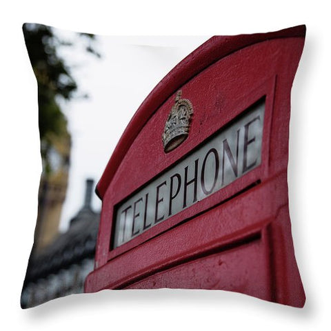 Call Waiting - Throw Pillow