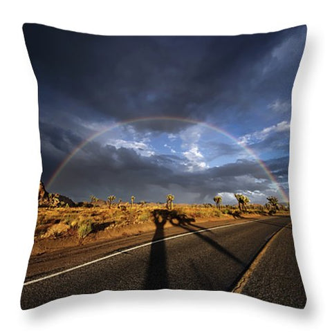 God's Sign - Throw Pillow