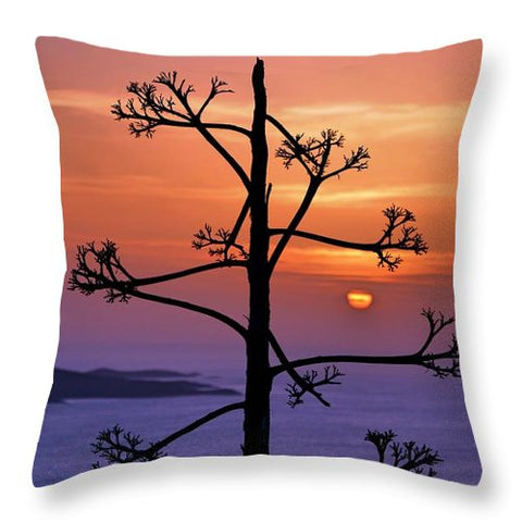 Hvar Sunset - Throw Pillow