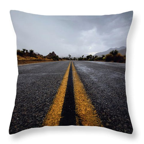 Narrow Path - Throw Pillow