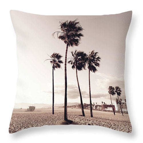 Venice Fade - Throw Pillow