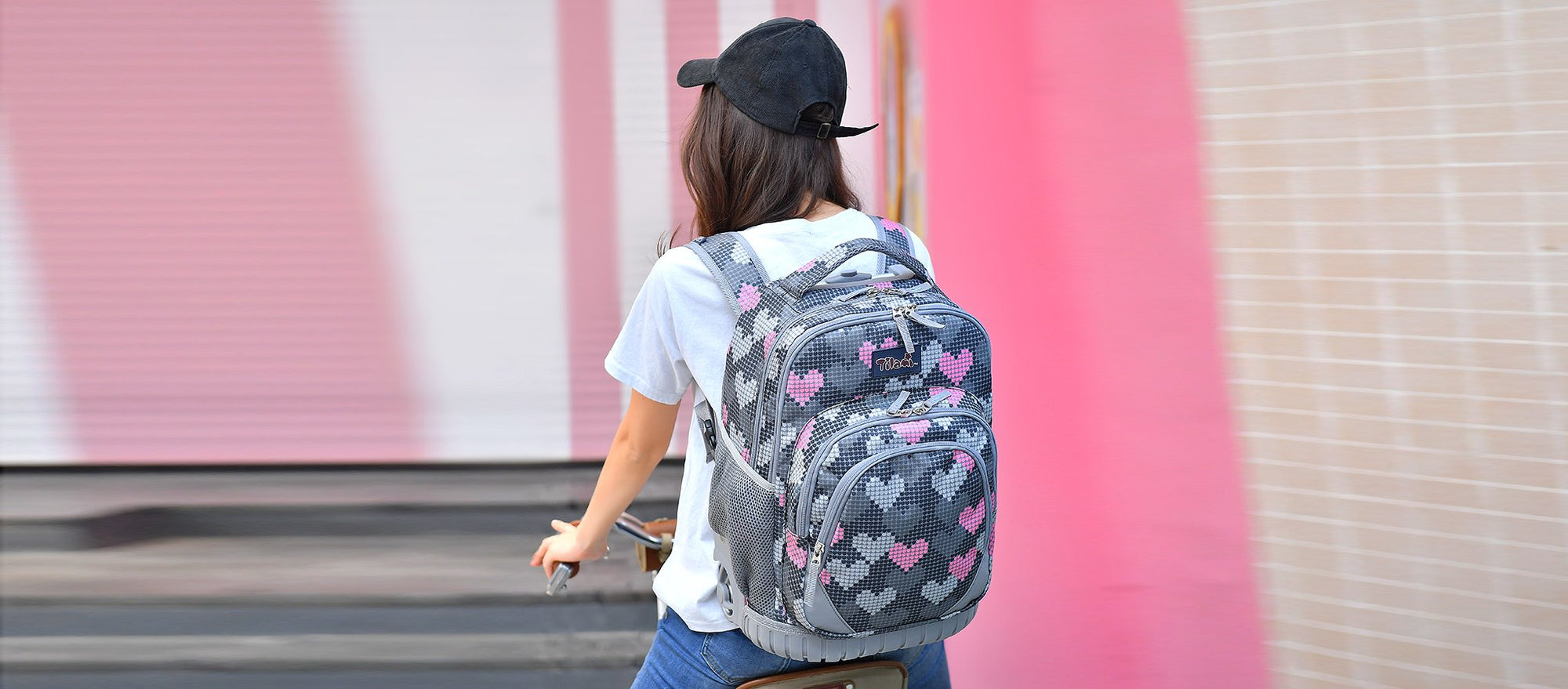 Rolling backpacks for boys and girls