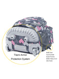 Tilami Cute Rolling Backpack 18 Inch Multifunction Wheeled Backpack Falling Love - Tilamibag