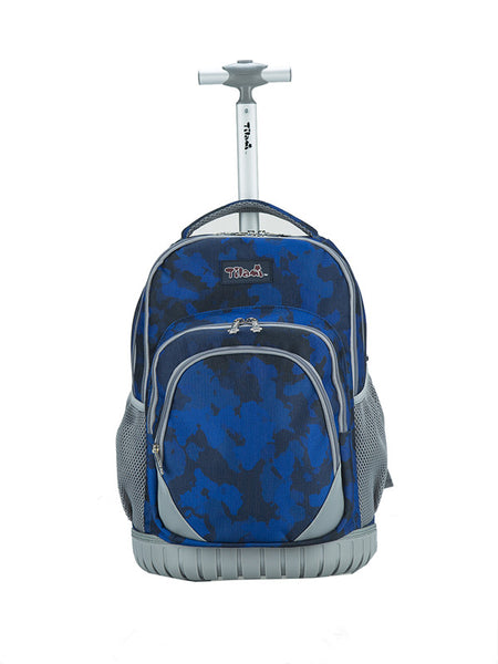 Tilami Rolling 18 Inch Boy Personalized Multifunction Wheeled Rolling Backpack - Tilamibag