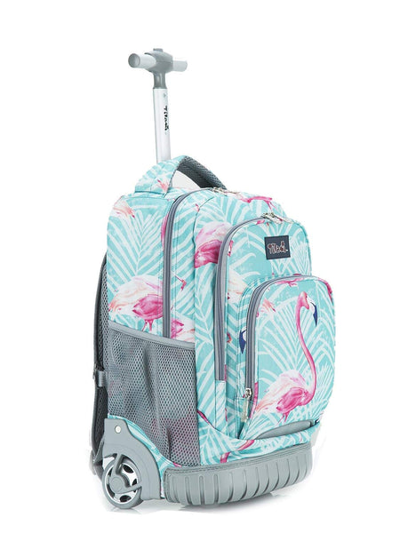 Tilami Rolling backpack 18 Inch for School, Travel, Wheeled Backpack - Tilamibag