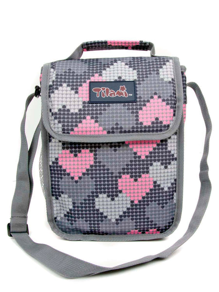 Tilami 18 Inch Wheeled Rolling Backpack Luggage and Lunch Bag Set Falling Love 2 - Tilamibag