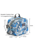 Tilami Insulated Picnic Bag Cooler Bag for School, Camping, Beach, Travel, Car Trip,Blue Arrow 1 - Tilamibag