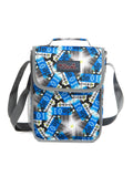 Tilami Insulated Picnic Bag Cooler Bag for School, Camping, Beach, Travel, Car Trip,Blue star shape 2 - Tilamibag