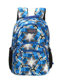 Tilami Students Backpack 17 Inch School Bag Children Bookbags Laptop Bag,Blue star shape - Tilamibag