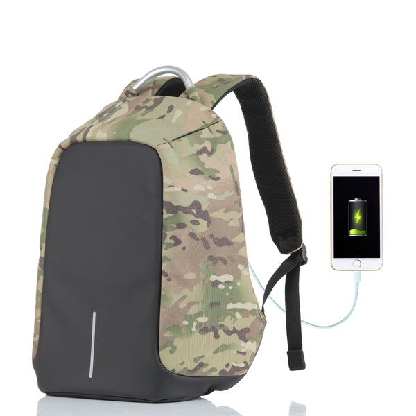 Tilami 15 Inch Travel Backpack, Anti-theft Laptop Backpack with USB Charging Port , Camouflage - Tilamibag