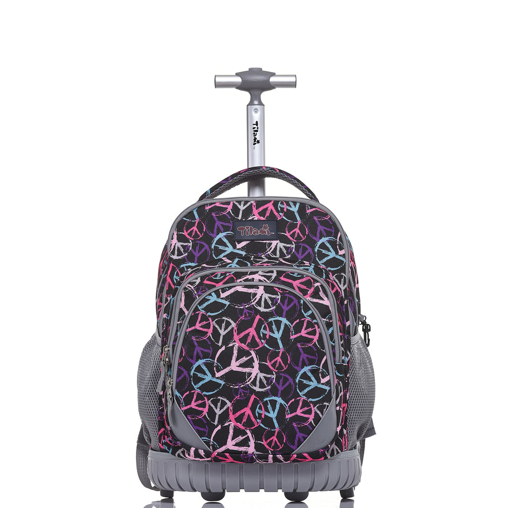 df5b0163a5 Rolling Backpack Armor Luggage School Travel Book Laptop 18 Inch  Multifunction Wheeled Backpack - Tilamibag