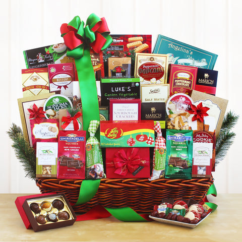 Ultimate Gourmet Holiday Gift Basket