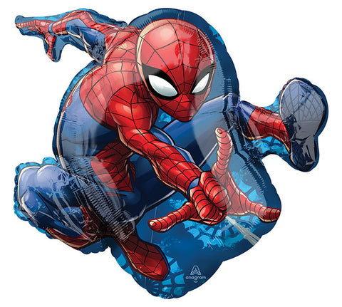 "29"" Pkg Spiderman Foil Balloon"