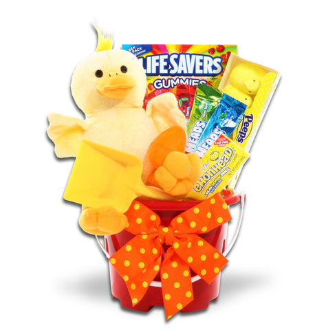 Ducky Easter Gift Pail