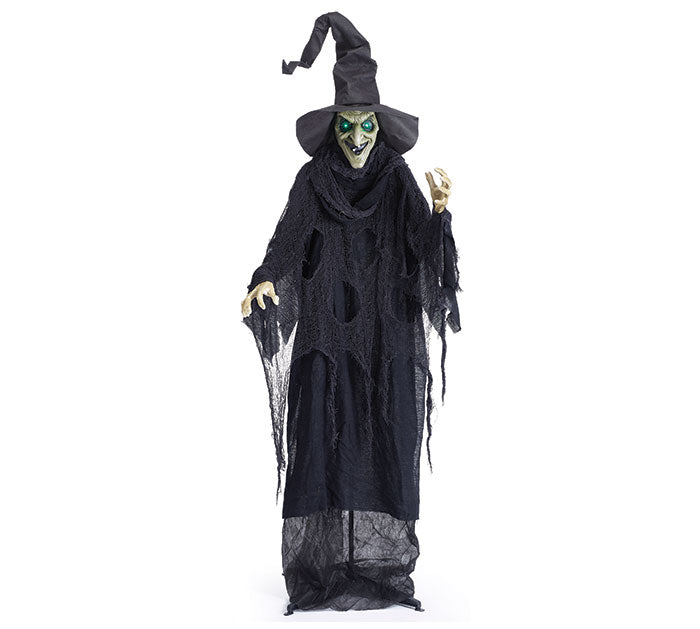 Animated Standing Witch Decor, [Premier Gifts and Balloons], Home Decor, Premier Gifts 'n Balloons