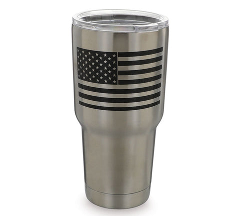 American Flag Stainless Steel Tumbler, [Premier Gifts and Balloons], Drinkware, Premier Gifts 'n Balloons