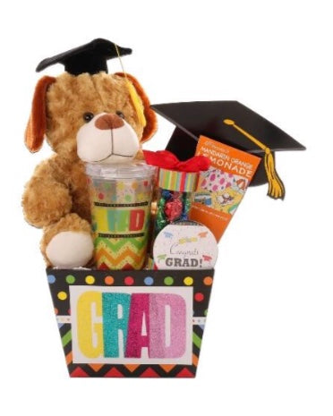 Graduation Essentials Gift Basket