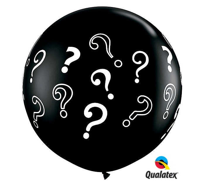 3' Gender Reveal Question Balloon, [Premier Gifts and Balloons], Balloons, Premier Gifts 'n Balloons