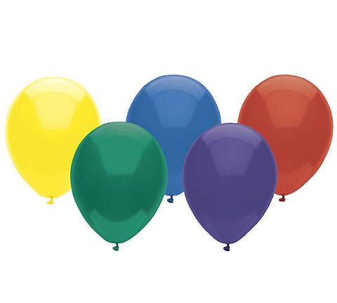 "11"" Crystal Asst Latex Balloons, [Premier Gifts and Balloons], Balloons, Premier Gifts 'n Balloons"