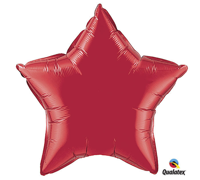 "20"" Red Star Balloon, [Premier Gifts and Balloons], Balloons, Premier Gifts 'n Balloons"