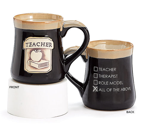All The Above Teacher Mug, [Premier Gifts and Balloons], Drinkware, Premier Gifts 'n Balloons