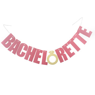 Bachelorette Banner Sign, [Premier Gifts and Balloons], Event Decorations, Premier Gifts 'n Balloons