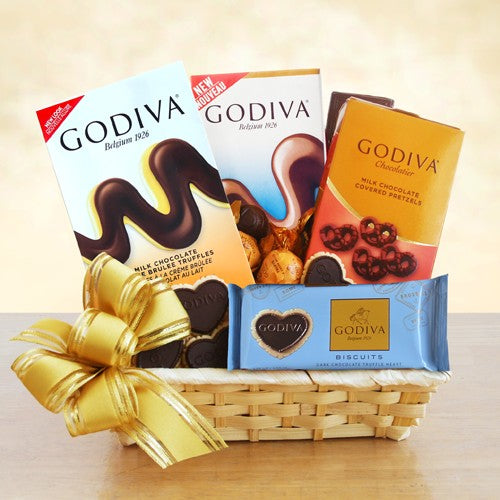 A Gift of Godiva, [Premier Gifts and Balloons], Gift Basket, Premier Gifts 'n Balloons