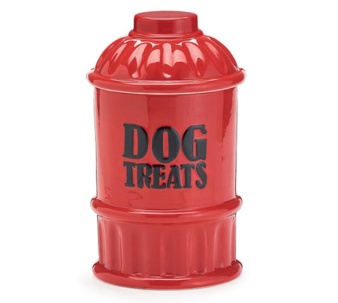 Hydrant Dog Treats Cookie Jar