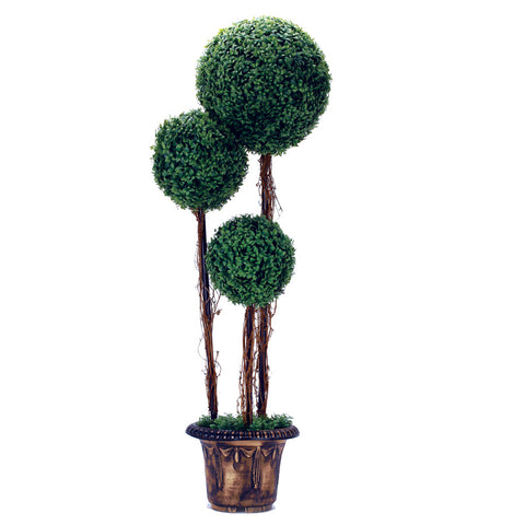 "Artificial Tree Round Boxwood Tree- 58"", [Premier Gifts and Balloons], Event Decorations, Premier Gifts 'n Balloons"