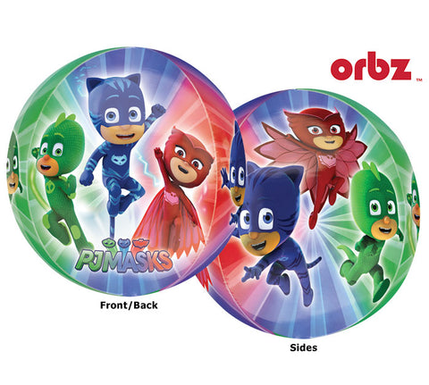 "16"" Pkg PJ Masks Orbz Clear Balloon"