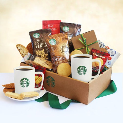 Classic Starbucks Coffee and Cocoa Gift Box, [Premier Gifts and Balloons], Gift Basket, Premier Gifts 'n Balloons