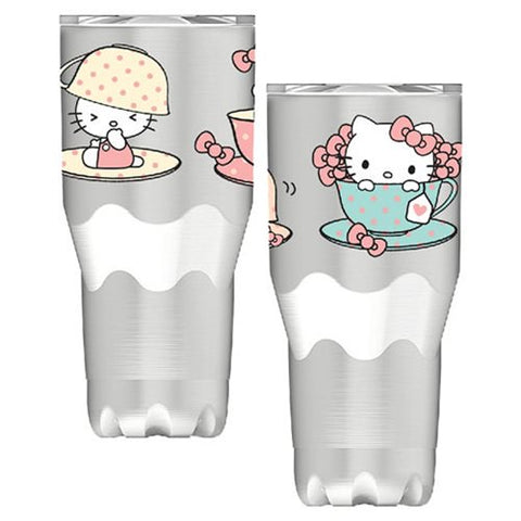 Hello Kitty Stainless Steel Travel Mug, [Premier Gifts and Balloons], Drinkware, Premier Gifts 'n Balloons
