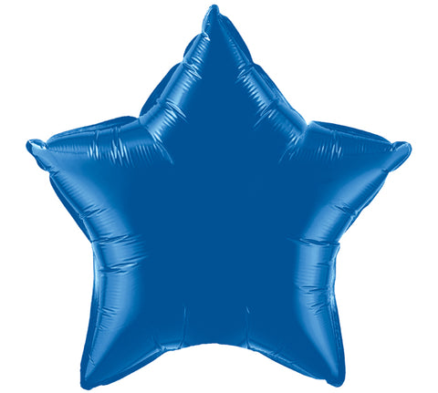 "20"" Dark Blue Star Balloon, [Premier Gifts and Balloons], Balloons, Premier Gifts 'n Balloons"