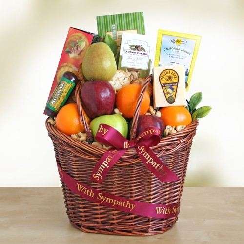 Caring Kindness Gourmet Fruit Basket, [Premier Gifts and Balloons], Gift Basket, Premier Gifts 'n Balloons