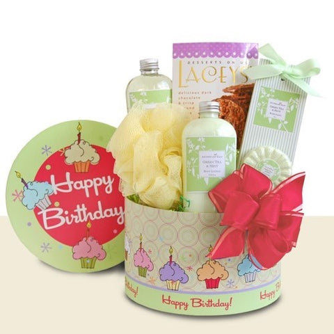 Birthday Spa Delights, [Premier Gifts and Balloons], Gift Basket, Premier Gifts 'n Balloons