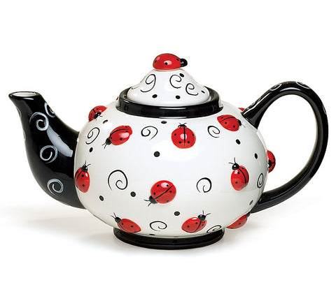 Ladybug Teapot, [Premier Gifts and Balloons], Teapots, Premier Gifts 'n Balloons