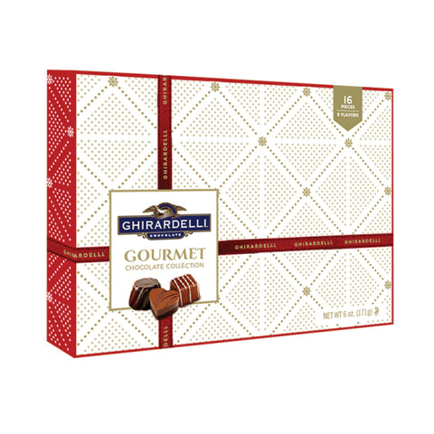 Ghirardelli Assorted Chocolate Holiday Gift Box