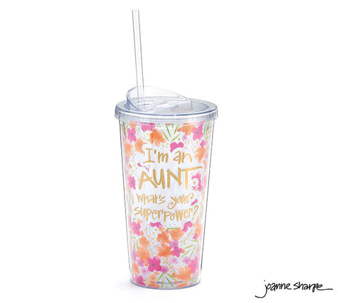 Superpower Aunt Travel Cup