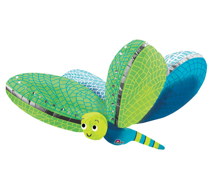 "40"" Pkg Dragonfly Balloon, [Premier Gifts and Balloons], Balloons, Premier Gifts 'n Balloons"