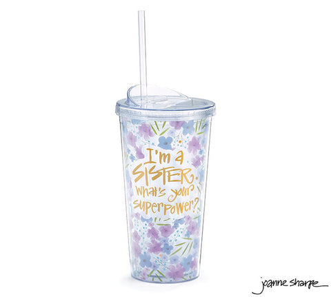 Superpower Sister Travel Cup
