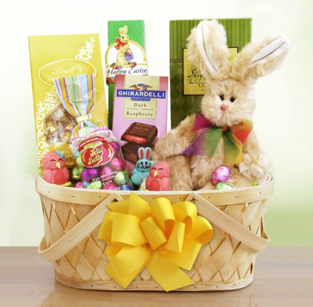 Easter Sweets and Treats Bunny Basket