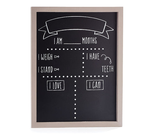 Chalkboard Milestone Sign, [Premier Gifts and Balloons], Premier Baby, Premier Gifts 'n Balloons