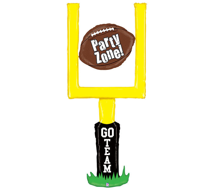 "60"" Football Goal Post Balloon, [Premier Gifts and Balloons], Balloons, Premier Gifts 'n Balloons"
