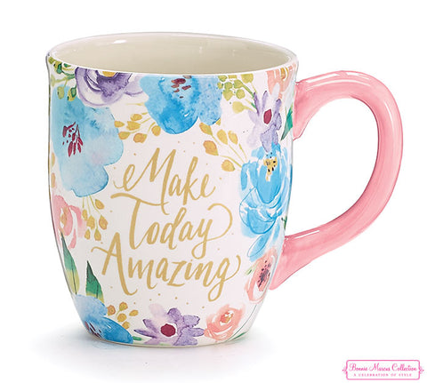 Make Today Amazing Ceramic Mug, [Premier Gifts and Balloons], Drinkware, Premier Gifts 'n Balloons