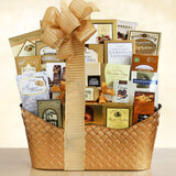 Golden Gourmet Holiday Basket