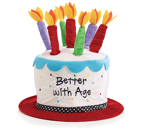Better With Age Birthday Hat, [Premier Gifts and Balloons], Novelty Item, Premier Gifts 'n Balloons