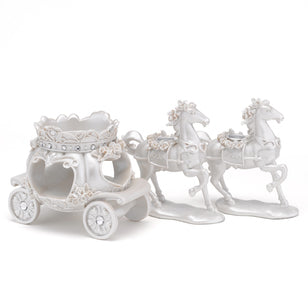 Carriage Candle Stand Set