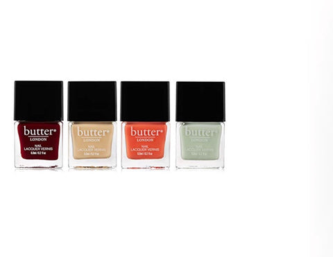 Butter London Nail Lacquer 4 Pc Set, [Premier Gifts and Balloons], Health & Beauty, Premier Gifts 'n Balloons